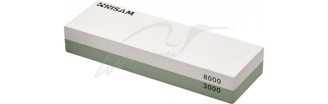 Точильний камінь Risam RW001. Зернистість - 3000/8000 (водний)