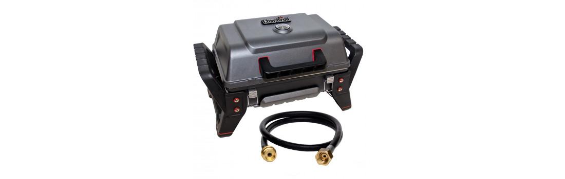 Комплект переносний гриль Char-Broil Grill2Go X200 + Шланг EN