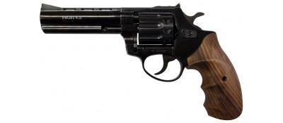 """Револьвер Флобера ZBROIA PROFI-4.5"""" (чорный / дерево)"""