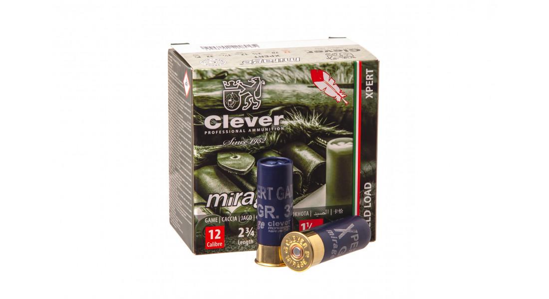 Патроны охотничьи MIRAGE T2 Xpert Game к.12/70 №5 (2,9 мм), 2 (3,5мм)