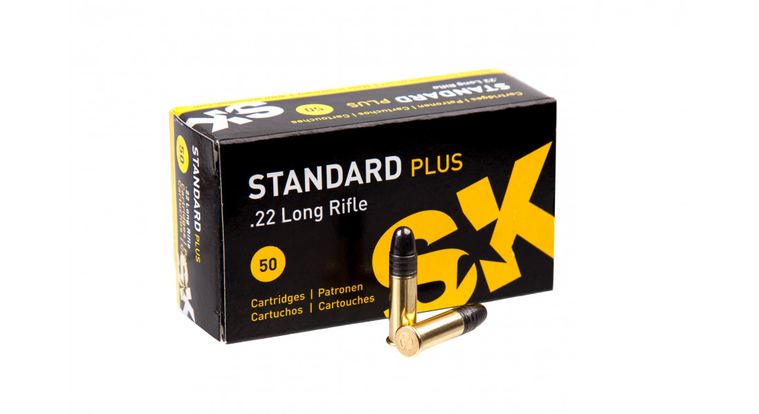 Патрон нарезной SK Standard Plus 22LR 2,59 гр