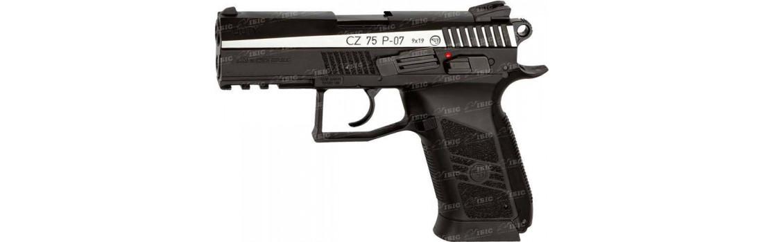 Пистолет пневматический ASG CZ 75 P-07 Duty Blowback кал. - 4.5 мм
