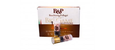 Картечь B&P BIG GAME PALLETTONI (12P) к.12