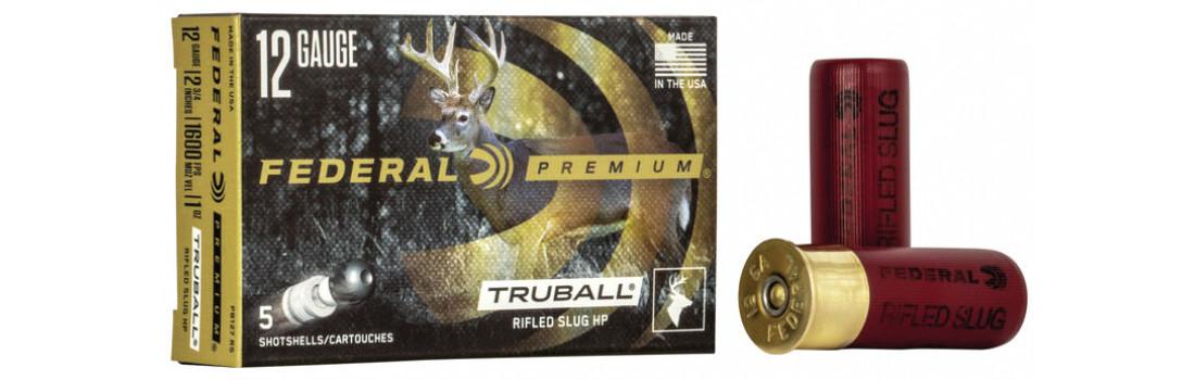 Пуля Federal TruBall Rifled Slug к. 12/70, 28,4 гр
