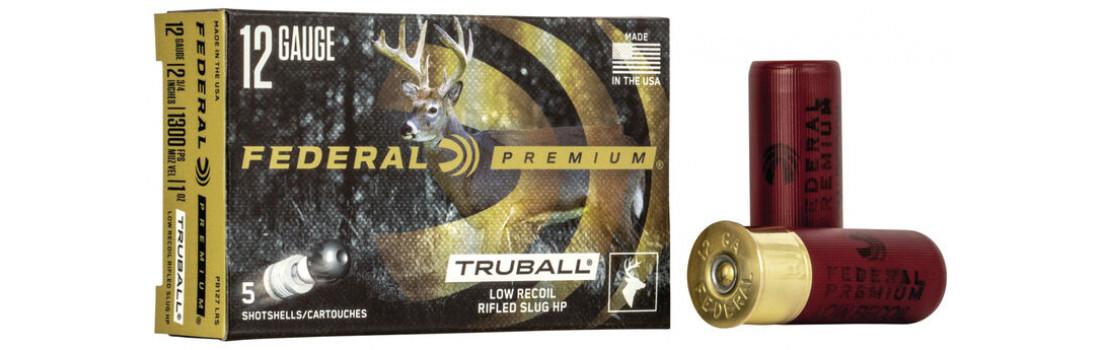 Пуля Federal TruBall Rifled Slug Low Recoil к. 12/70, 28,4 гр