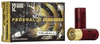 Куля Federal TruBall Rifled Slug Low Recoil к. 12/70, 28,4 гр