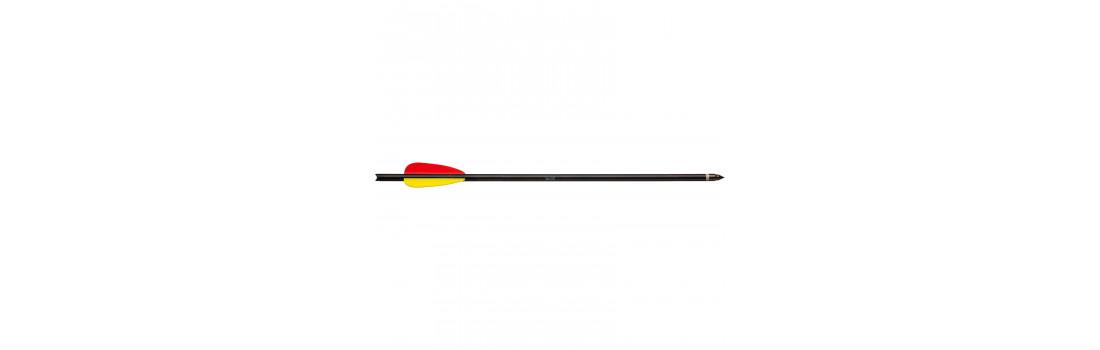 Стрела для винтовочного арбалета Man Kung MK-AL14BK. Алюминий. Цвет - черный