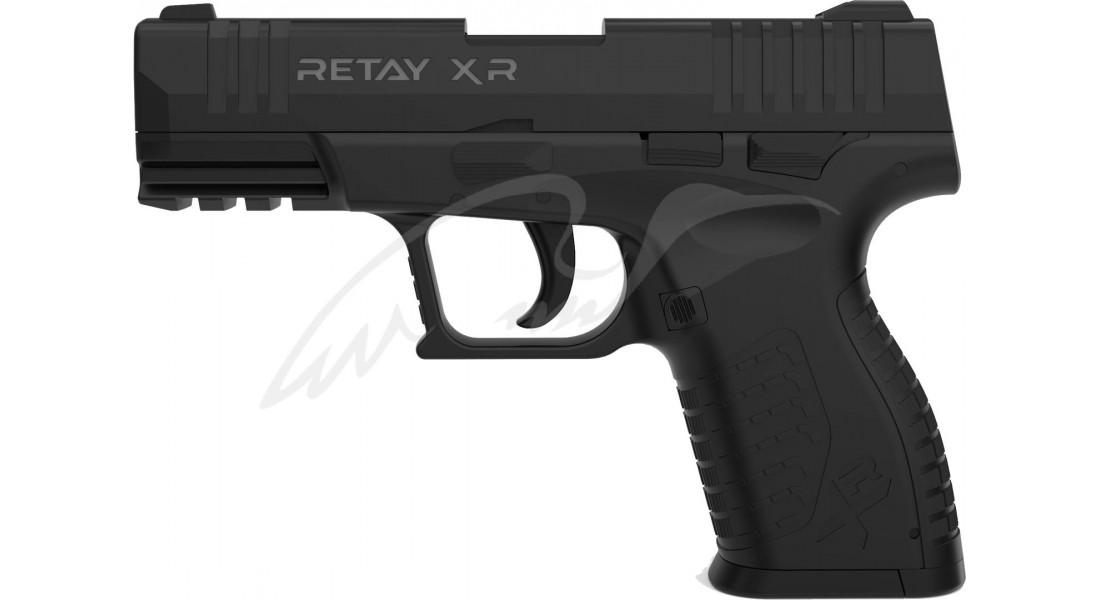 Пістолет стартовий Retay XR кал. 9 мм. Колір - black.
