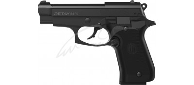 Пистолет стартовый Retay 84FS. Цвет - black.