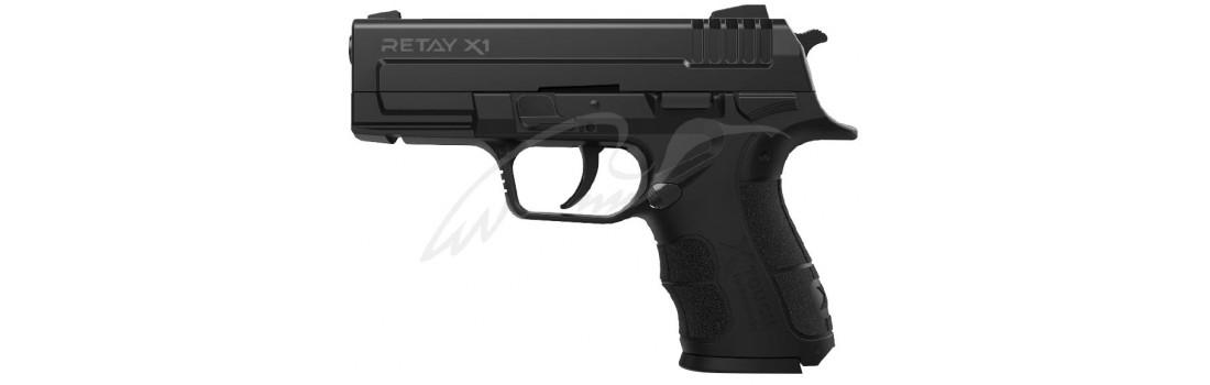 Пістолет стартовий Retay X1 кал. 9 мм. Колір - black.