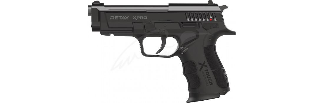 Пістолет стартовий Retay XPro кал. 9 мм. Колір - black.