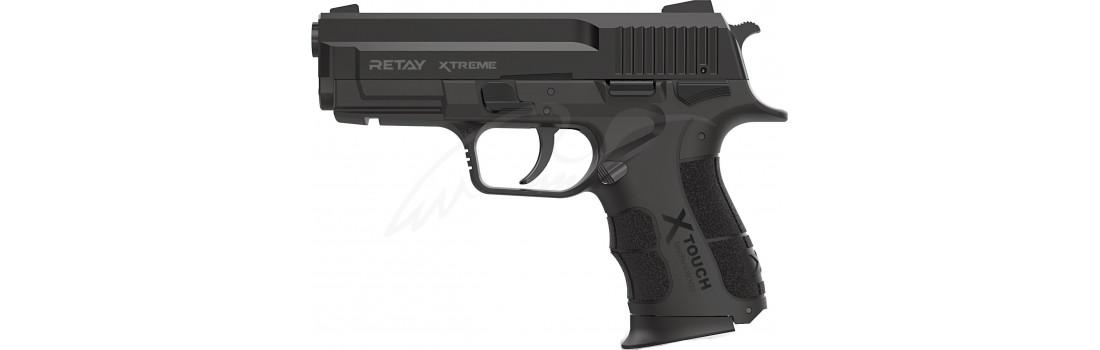Пістолет стартовий Retay XTreme кал. 9 мм. Колір - black.