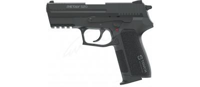 Пистолет стартовый Retay S20 кал. 9 мм. Цвет - black.