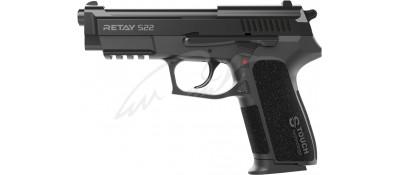 Пистолет стартовый Retay S22 кал. 9 мм. Цвет - black.