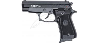 Пистолет стартовый Retay F29 кал. 9 мм. Цвет - Black