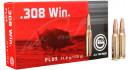 Патрон GECO кал.308 Win пуля Plus масса 11 г, нач. скорость 810 м/с