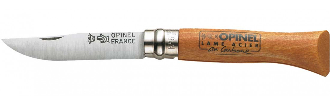 Нож Opinel №6 Carbone