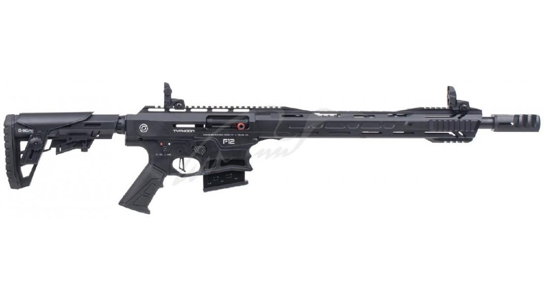 Ружье Typhoon F12 Sport кал. 12/76. Ствол - 47 см. Цвет - черный