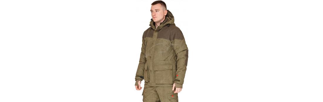 Куртка Hallyard Jagd Anzug. Размер - 54. Цвет - olive drab