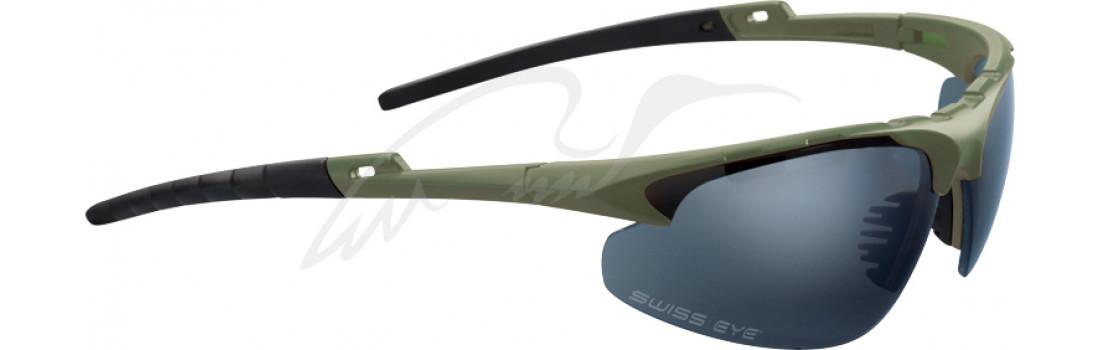 Окуляри балістичні Swiss Eye Apache. Колір - оливковий