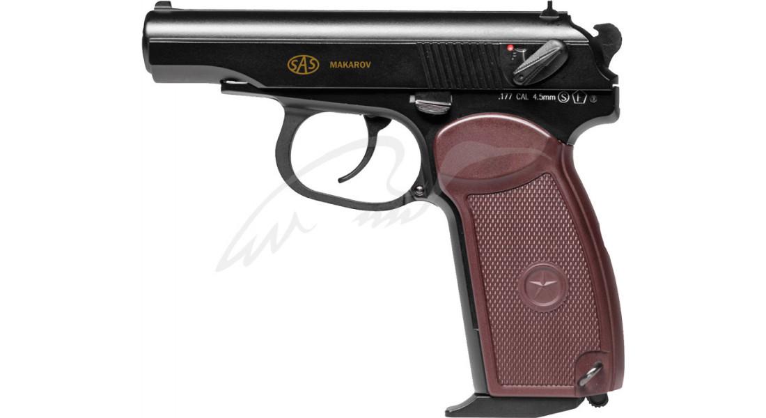 Пистолет пневматический SAS Makarov Blowback