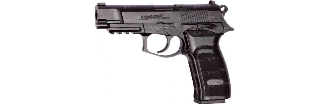 Пистолет пневматический ASG Bersa Thunder 9 Pro. Корпус - пластик