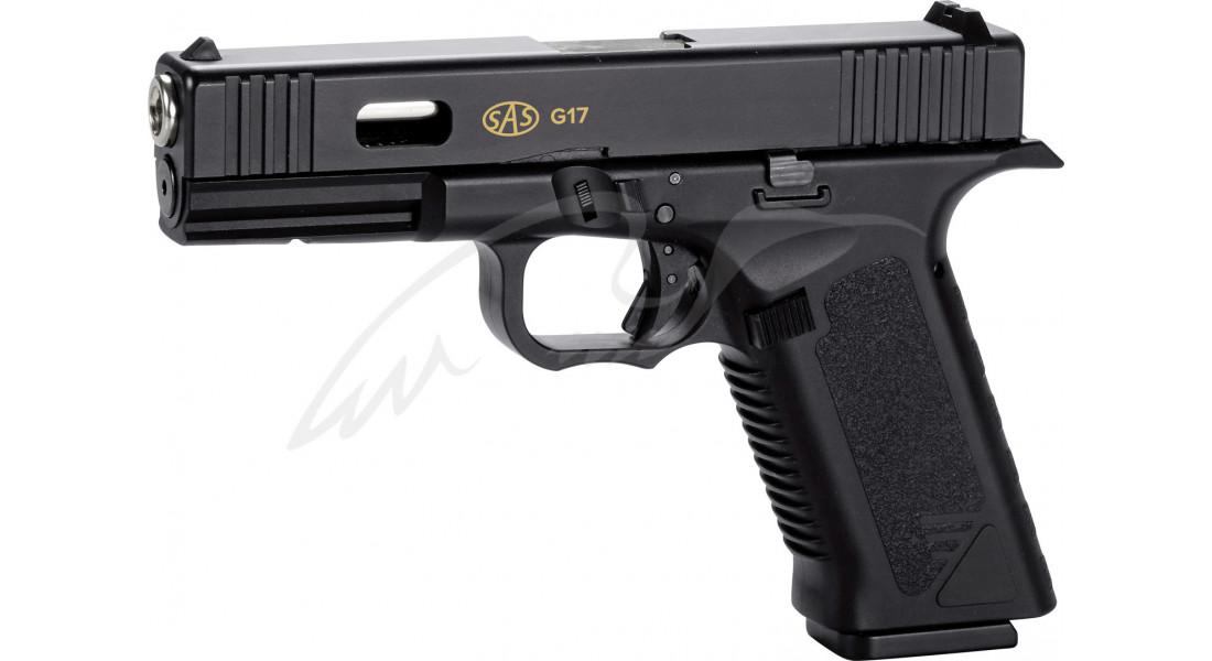 Пистолет пневматический SAS G17 (Glock 17) Blowback