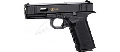 Пістолет пневматичний SAS G17 (Glock 17) Blowback. Корпус - пластик