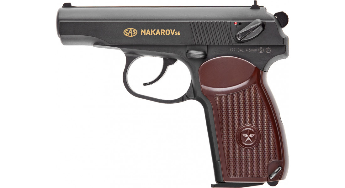 Пистолет пневматический SAS Makarov SE