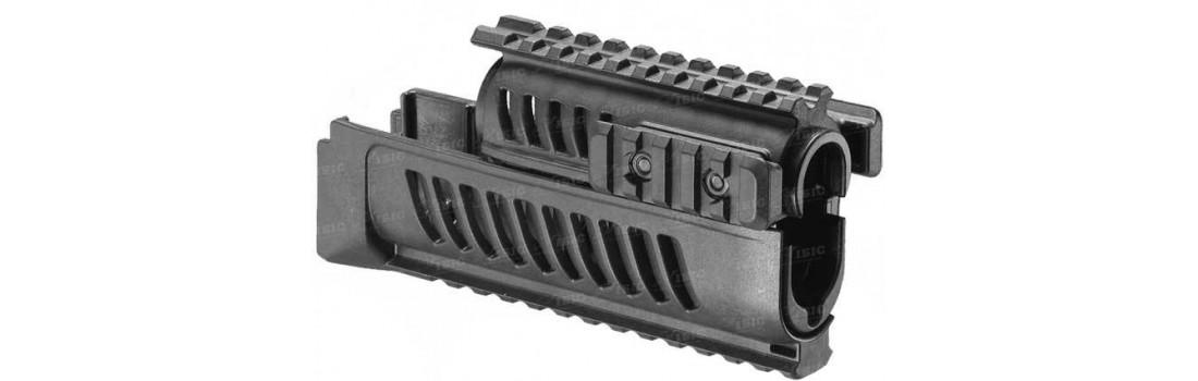 Цевье FAB Defense полимерное для Сайги. Цвет - черный