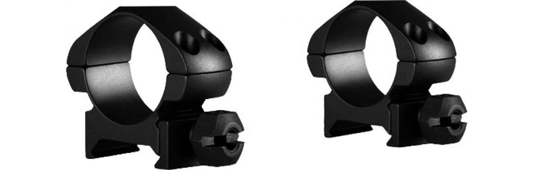 Кільця Hawke Precision Steel. d - 25.4 мм Low. Weaver/Picatinny