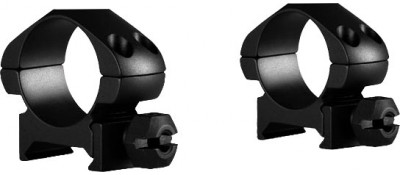 Кольца Hawke Precision Steel. d - 25.4 мм. Low. Weaver/Picatinny