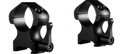 Кольца быстросъемные Hawke Precision Steel. d - 25.4 мм. High. Weaver/Picatinny
