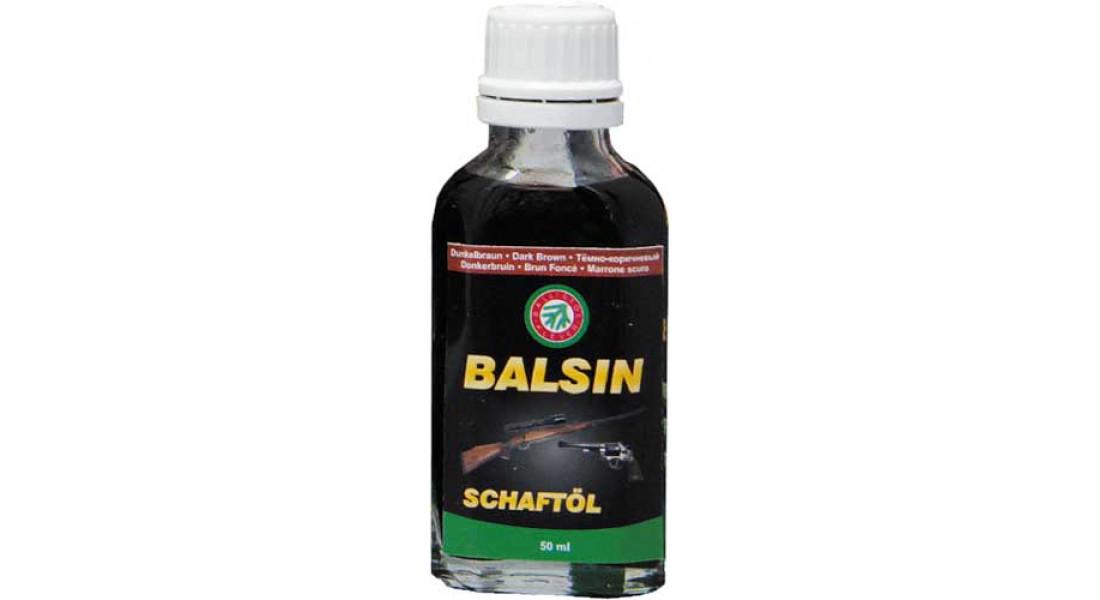 Масло для ухода за деревом Balsin 50мл. Темно-коричневое
