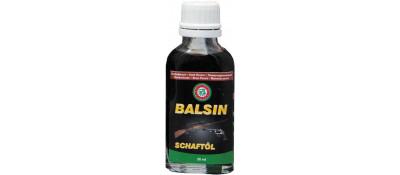 Масло для догляду за деревом Balsin 50мл. Темно-коричневе