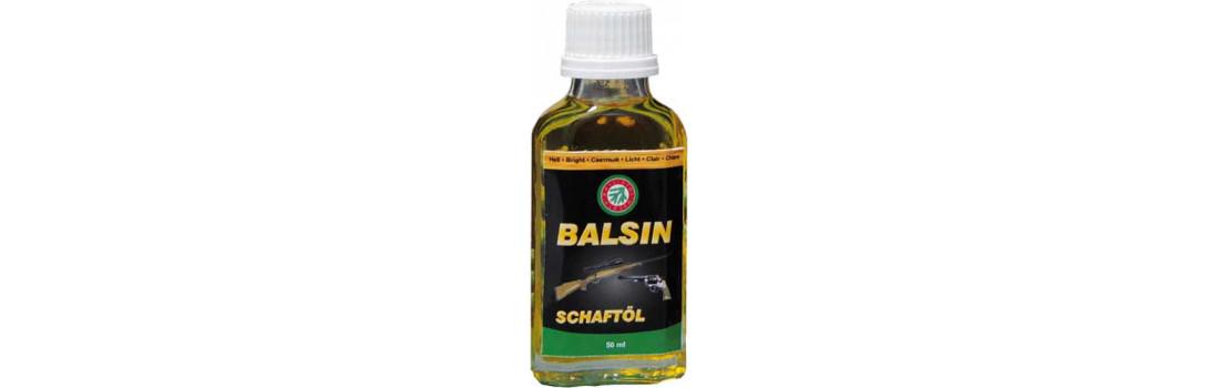 Масло для догляду за деревом Balsin 50 мл Світло-коричневе