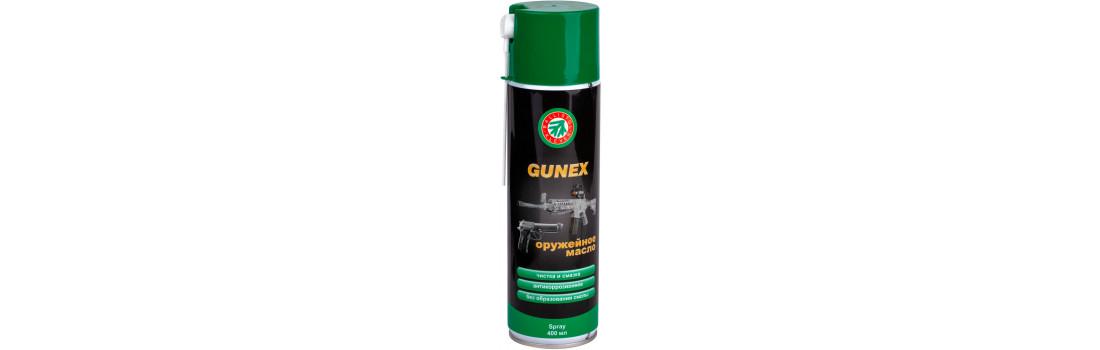 Масло оружейное Gunex 400 мл., спрей