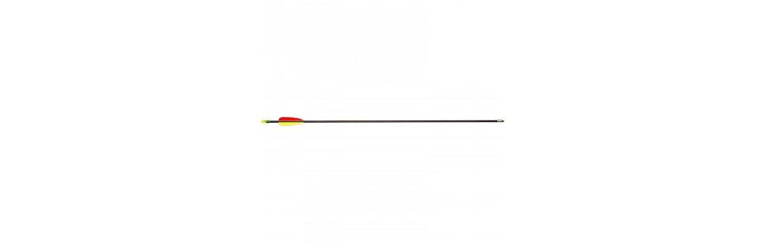 Стріла для лука Man Kung MK-FA28. Фіберглас. Колір - чорний