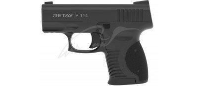 Пістолет стартовий Retay P114 кал. 9 мм. Колір - black.