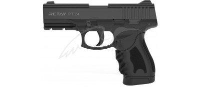 Пістолет стартовий Retay PT24 кал. 9 мм. Колір - black.