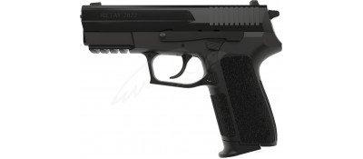 Пістолет стартовий Retay 2022 кал. 9 мм. Колір - black.