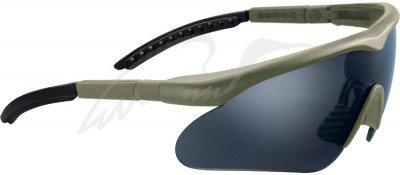 Очки баллистические Swiss Eye Raptor. Цвет - оливковый