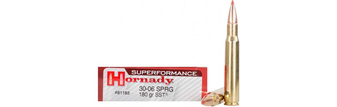 Патрон Hornady Superformance кал .30-06 куля SST маса 180 гр (11.7 г)