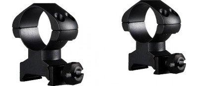 Кольца Hawke Precision Steel. d - 25.4 мм. High. Weaver/Picatinny