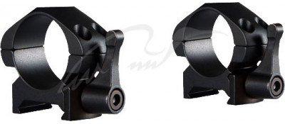 Кольца быстросъемные Hawke Precision Steel. d - 25.4 мм. Low. Weaver/Picatinny