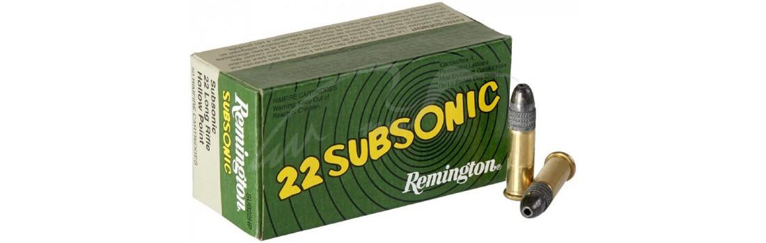 Патрон Remington Subsonic кал .22 LR куля HP маса 38 гр (2.5 г)