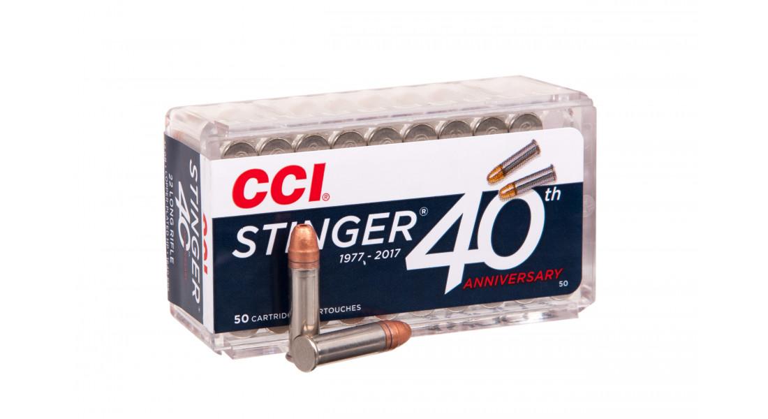 Патрон нарезной CCI STINGER 22LR 2,07гр