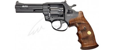 """Револьвер флобера Alfa mod.441 4"""". Рукоять №9. Матеріал рукояті - дерево"""