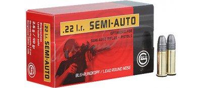 Патрон GECO Semi-Auto кал .22 LR пуля BR маса 40 гр (2.6 г)